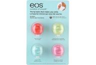 Набор EOS с бальзамом для губ 4 штуки